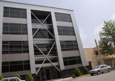 دفتر مرکزی پرین بتن آمود