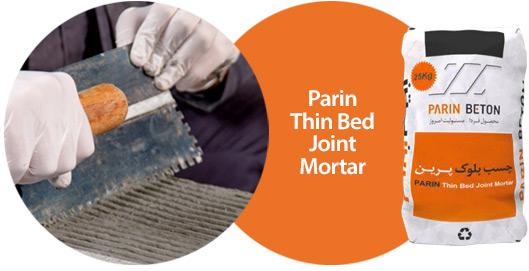 Parin Thin Bed Joint Mortar