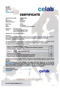 گواهی CE چسب کاشی