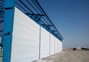 سوله صنعتی با پانل مسلح پرین