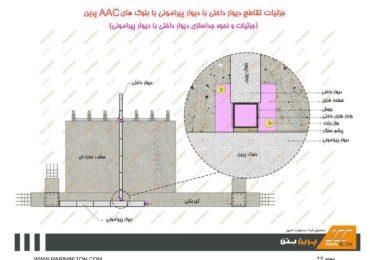 جداسازی دیوار خارجی به داخلی با وال پست