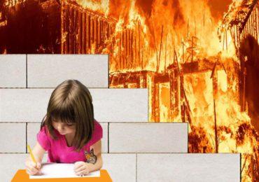 بلوک پرین با 4 ساعت خاصیت آتشپادی